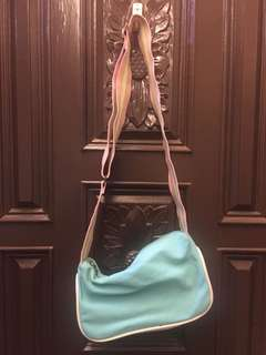 馬卡龍配色甜美側背包