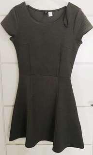H&M ARMY DRESS