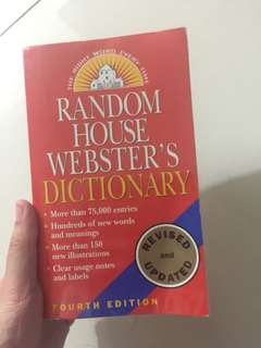 Meriam Webster's dictionary