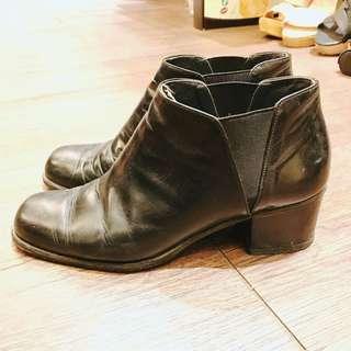 🚚 🖤義大利皮製短靴