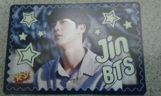 BTS Jin 夜光卡
