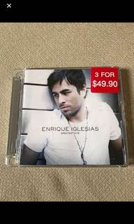 Cd box C4 - Enrique Iglesias