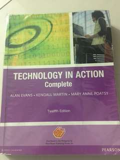 Technology in action by Pearson (COMPUTER)