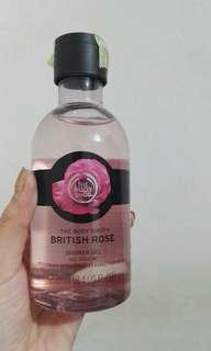British rose bath body
