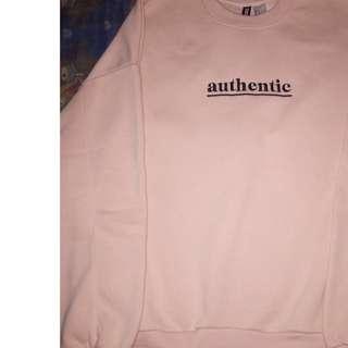 Sweatshirt hnm Authentic