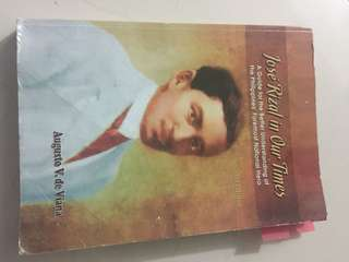 Jose Rizal textbook