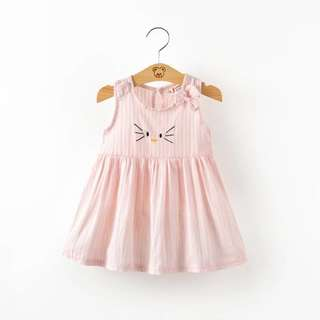 👧🏻(PO) Summer Hello Kitty Girl Dress