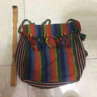 側背包 中南美洲 瓜地馬拉 民俗風 民族風 古著