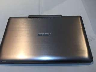 Asus Transformer T100TAM 10.1吋新四核變型平板筆電(香檳金)