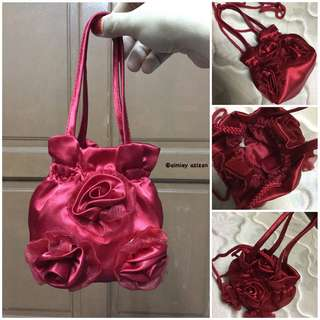 Preloved Bag - Roses Bag