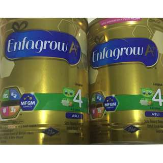 Free 600g Enfagrow for every 6 tins/boxes