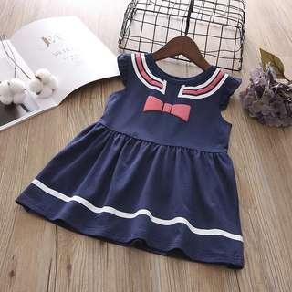 👧🏻(PO) School Girl Ribbon Dress