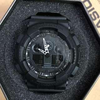 黑武士CASIO(卡西歐)watch手錶G-SHOCK經典系列男錶GA-110MB-1