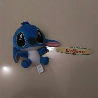 全新史迪奇藍色吊飾娃娃玩偶 有吊牌 超可愛