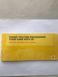 Shell coupon / voucher booklet (May 2018 - Jan 2019)