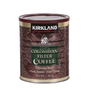 Kirkland 100% Colombian Filter Coffee