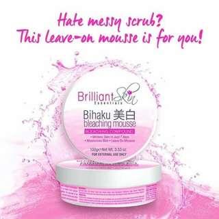 Brilliant Skin Bihaku Bleaching Scrub/Mousse