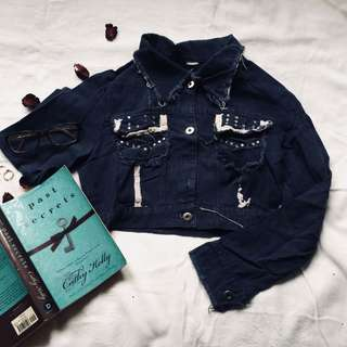 Maong Beaded Jacket