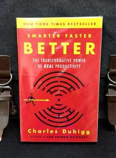 # Highly Recommended《Bran-New + TED Talks Speaker + Explore The Secrets of Being Productive in Life and Business》Charles Duhigg - SMARTER FASTER BETTER : The Transformative Power Of Real Productivity