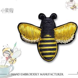 NEW COLLECTION Premium High-Quality Bee 🐝 French Styles India Silk Handmade Embroidered Cute Design Brooch