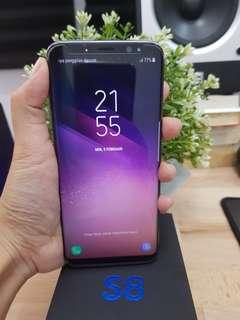 Samsung S8 fullset Dualsim 64gb Ori Sein resmi mulus
