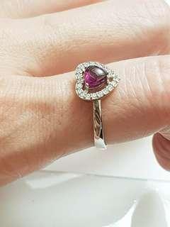 天然粉色戒指 限量1個 賣完就沒了