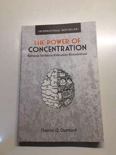 The Power Of Concentration Theron Q. Dumont
