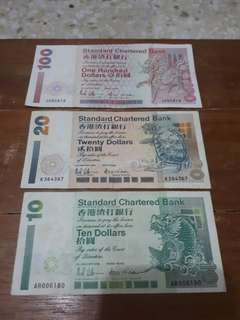 2003 Hong Kong Standard Chartered Bank Series Notes
