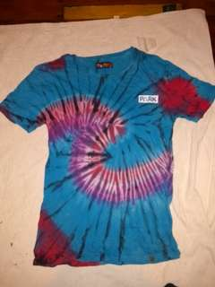 Tie dye hallensteins t-shirt size small