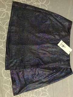Something borrowed holographic skirt