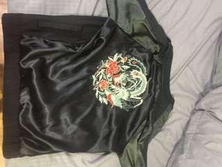 ASOS Dragon Bomber Jacket