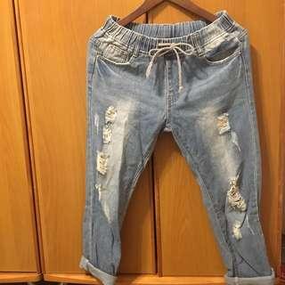 牛仔男友褲