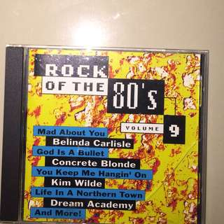 Cd rock of the 80s