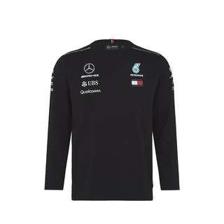Mercedes AMG Petronas Long Sleeve t-shirt-Black