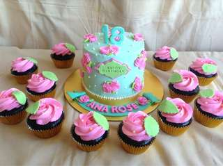 Cake and Cupcake package