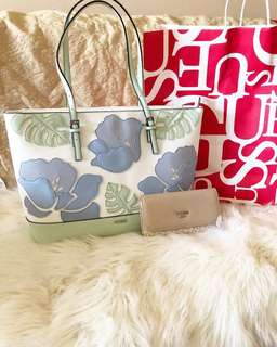 Guess Tote and Wallet
