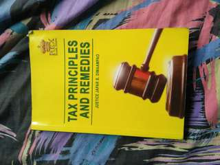 Tax Principles and Remedies