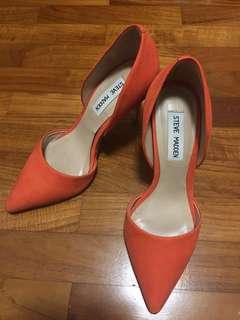 Steve Madden Orange Heel