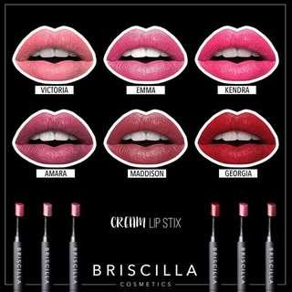 Briscilla Cream Lipstick