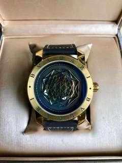 BVLGARI Leather Wrist Watch