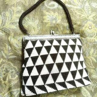 ✨古董手工縫珠晚宴包✨較高等級品