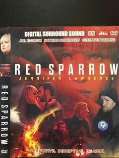 Dvd English movie, Red Sparrow