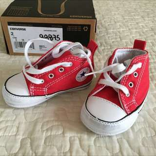 Converse High Tops Infant (Red)