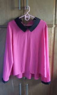 bench long sleeve blouse