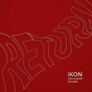 [PREORDER] iKON-return