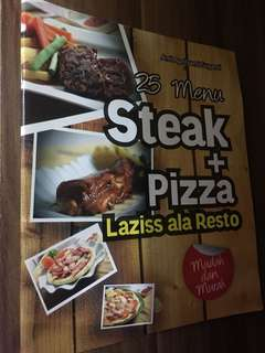 Resep Steak + Pizza