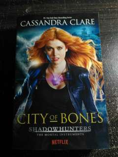 City Of Bones Novel Preloved ENGLISH