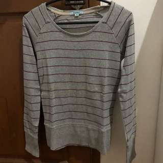 Preloved baleno stripe top