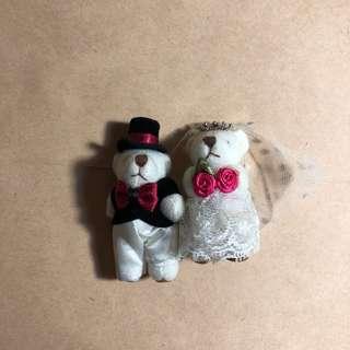 🚚 泰迪熊情侶娃娃