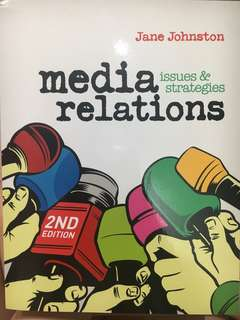 Media relations: issues & strategies